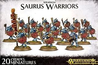 Warhammer: Age Of Sigmar - Seraphon - Saurus Warriors