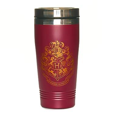Paladone Harry Potter Hogwarts Travel Mug - Commuter Coffee Cup