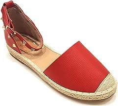 VICTORIA ADAMES Gaby Espadrilles Shoes RED