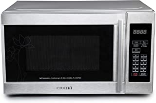 Croma 20 Litres Solo Microwave Oven (CRM2025, Silver)