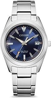 Citizen Women's Analogue Quartz Watch with Titanium Strap FE6150-85L