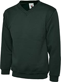 Premium Heavy Sweat Shirt, V Neck Style - Ideal for Sports, Work and Leisure