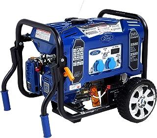 Ford 3500 Watts Peak & 2500 Watts Rated 208cc Petrol / Gasoline Powered Portable Generator, Blue