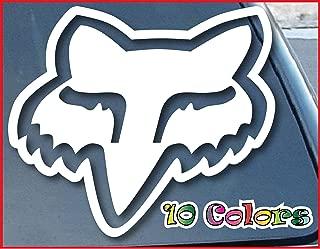 Fox Head Car Window Vinyl Decal Sticker 5