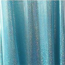 DIY 150 cm * 50 / 100cm glitter laser polyester stof iriserende holografische bruiloft partij achtergrond pop kleding deco...