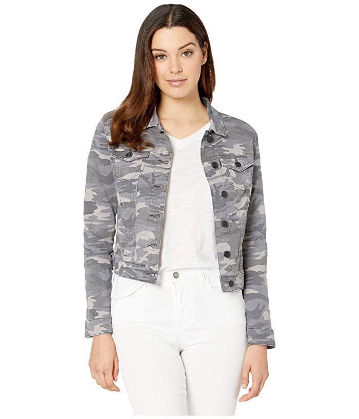 Mavi Jeans Samantha Denim Jacket (Grey Camo Stretch) Women