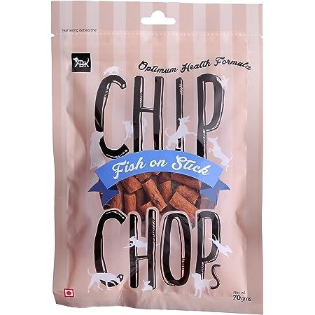 Chip Chops Dog Treat Fish on Stick, 70g, Optimum Health Formula (Single Pack)