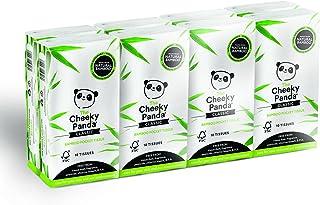 The Cheeky Panda – Bambusowe chusteczki kieszonkowe, hipoalergiczne, przyjazne dla środowiska, super miękkie, mocne i zrów...