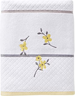SKL Home by Saturday Knight Ltd. Spring Garden Bath Towel, White