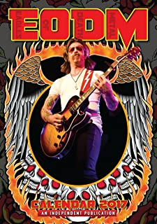 EAGLES OF DEATH METAL CALENDAR 2017 LARGE (A3 ) SIZE POSTER WALL CALENDAR BRAND NEW & FACTORY SEALED
