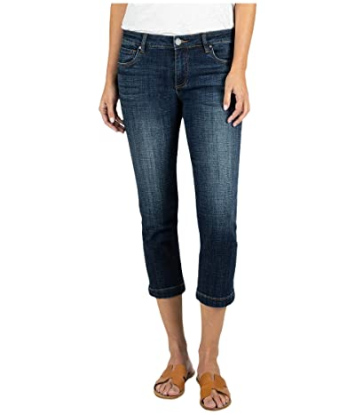 KUT from the Kloth Lauren Crop Straight Leg with Wide Hem in Rising (Rising) Women