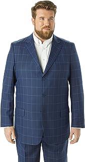 Kingsize Signature Collection Men's Big & Tall Kingsize Signature Collection Easy Movement Three-Button Jacket