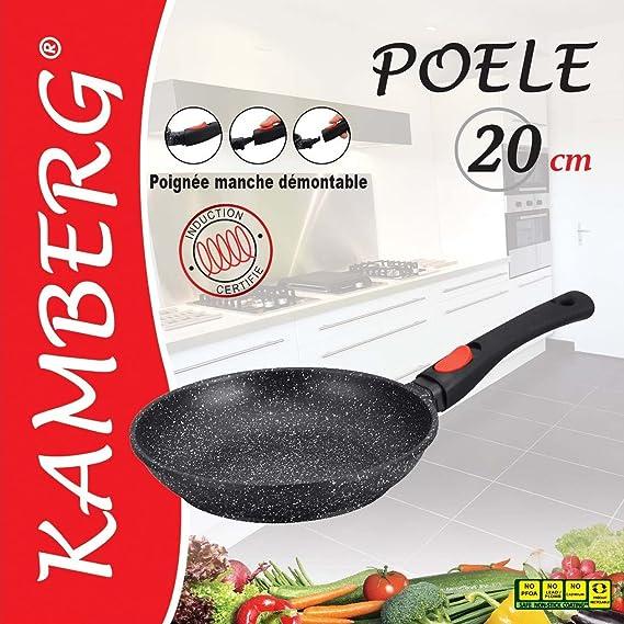 Kamberg 0008025 Pfanne Aluguss 32 Cm Küche Haushalt