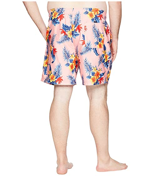 Outlet Brand New Unisex Nautica Big & Tall Big & Tall Hibiscus Floral Trunk Coral Sands Cheap Footaction Excellent zhk74r