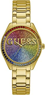 Guess Women's Analogue Quartz Watch with Stainless Steel Strap W0987L5