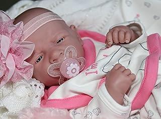 AWW! I'm New Baby Girl! Berenguer Lifelike Newborn Reborn Pacifier Doll +Extras