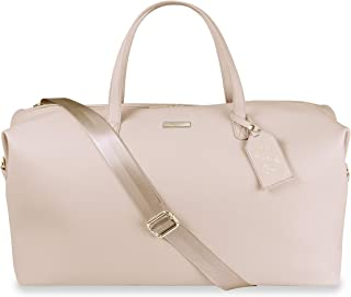 Katie Loxton Holdall Womens Vegan Leather Convertible Strap Top Handle Duffle Bag Pale Pink