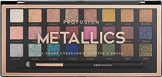Profusion Cosmetics Professional Artistry Pro Eyeshadow Palette, Metallics