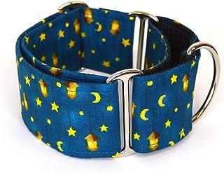 Collare per cani martingale: Starry Night, fatto a mano in Spagna da Wakakán