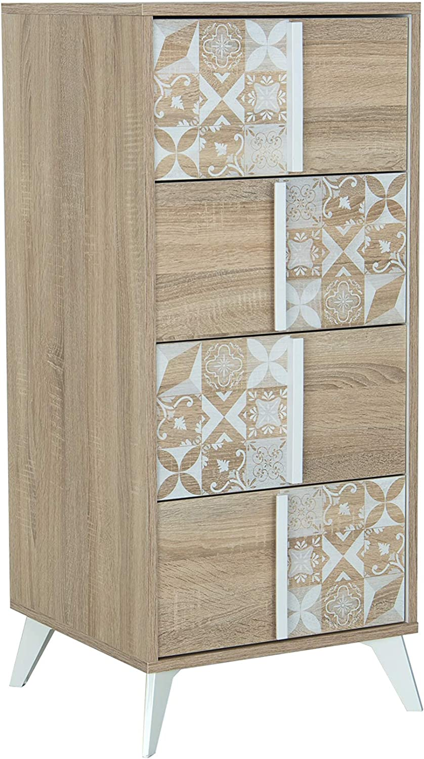 OFFicial Christelle Tall 4 Superior Chest Drawers