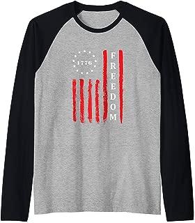 Best sideways american flag shirt Reviews