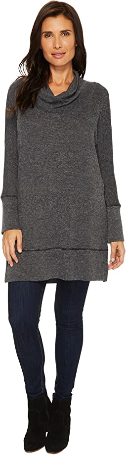 Mod-o-doc - So Soft Sweater Knit Dolman Sleeve Cowl Neck Tunic