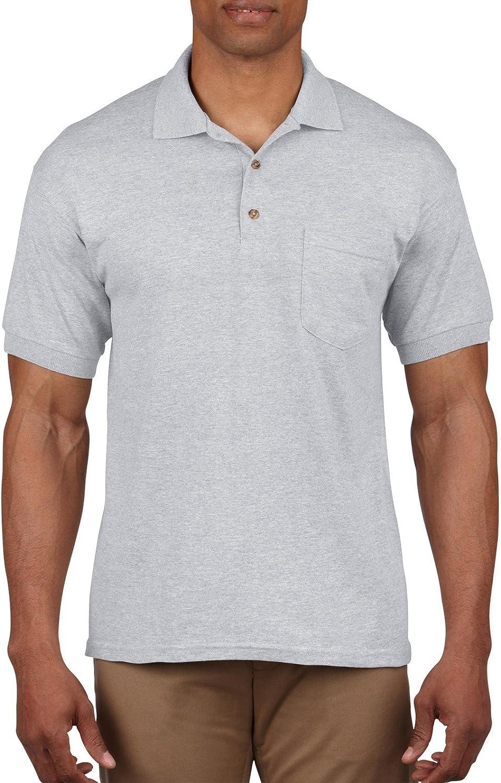 New mail order Gildan Mens DryBlend 6-Ounce Max 75% OFF Jersey Sport Pocket with Shirt Knit