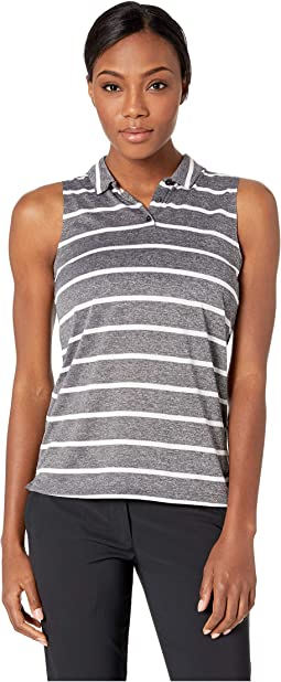 Dry Polo Sleeveless Stripe