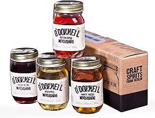 """Mini Jars alle 4 Sorten - O""""Donnell Moonshine - NEU! Mit WILDE BEERE"""