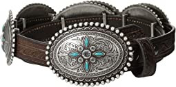 Oval Concho Belt