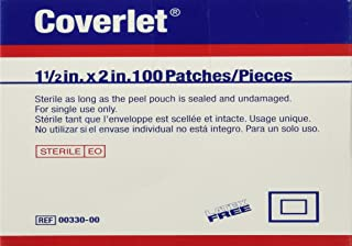 Coverlet Fabric Shapes Patch 1-1/2 x 2 (Box of 100)