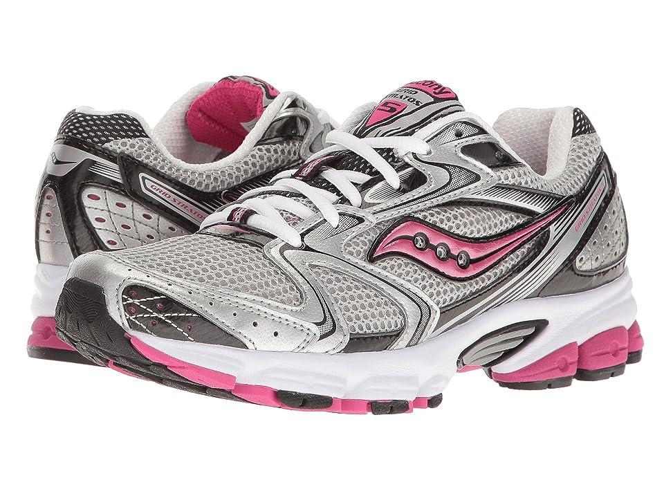 Saucony Grid Stratos 5 (Silver/Black/Pink) Women