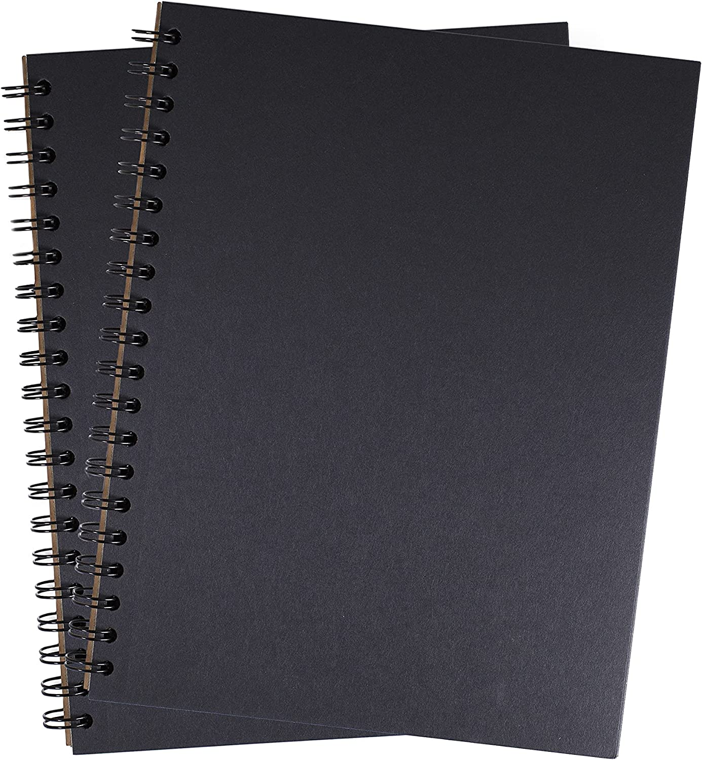Unruled Blackout Notebook 8 x 10.5 Spiral Inches: Bound Pa Black Max 86% OFF Max 50% OFF