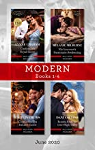Modern Box Set 1-4 June 2020/Cinderella's Royal Secret/His Innocent's Passionate Awakening/Claimed in the Italian's Castle/Beauty and Her One (Once Upon a Temptation)