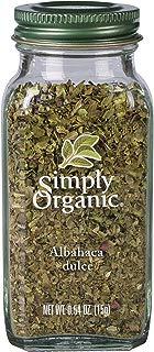 Simply Organic, Albahaca Dulce, 15 Gr.