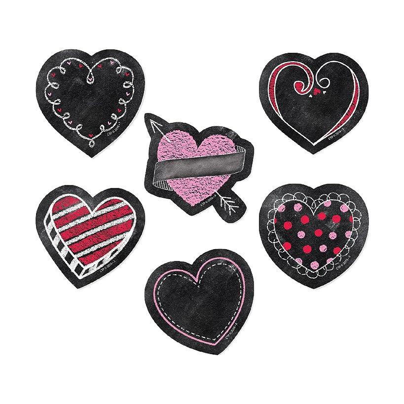 Creative Teaching Press Calendar, Décor Chalk Hearts Cut Outs, 3