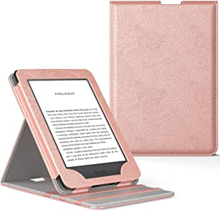 MoKo Case Fits All-New Kindle (10th Generation - 2019 Release Only), Vertical Flip Protective Cover with Auto Wake/Sleep, ...