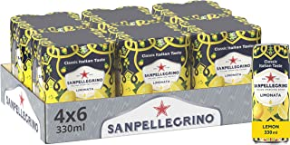 San Pellegrino Klassieke smaak citroen blik 24x330ml