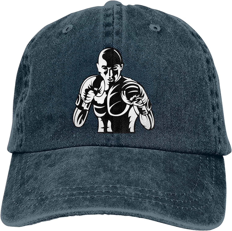 WABB Unisex Adulthood Inspiration Boxing Professional Boxer Summer Fashion Cowboy Hats