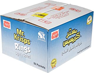 Mr Krisps Potato Rings, Lightly Salted Flavour, 50 x 15 gm