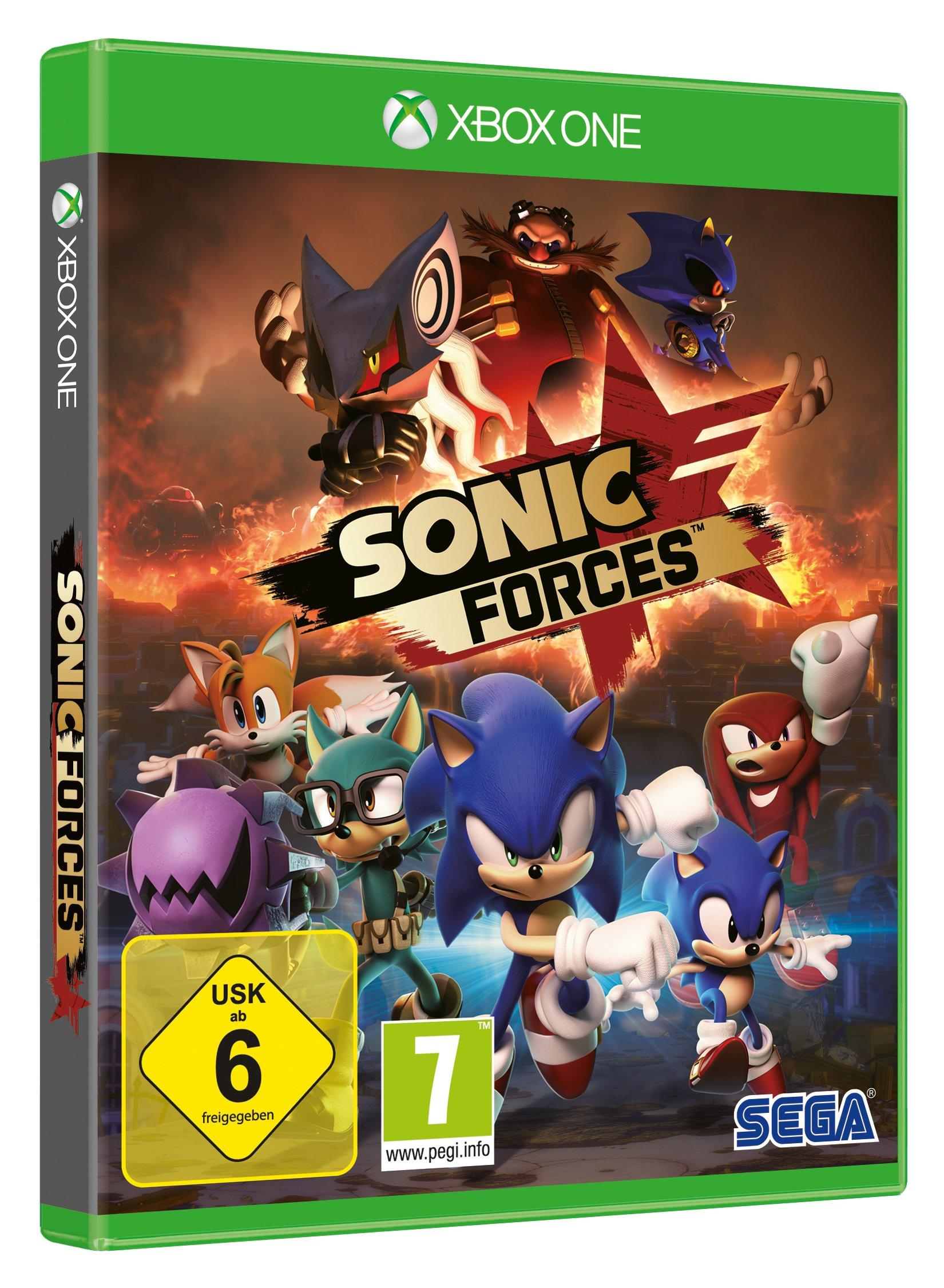 Sonic Forces (XBox ONE) (edición alemana): Amazon.es: Videojuegos