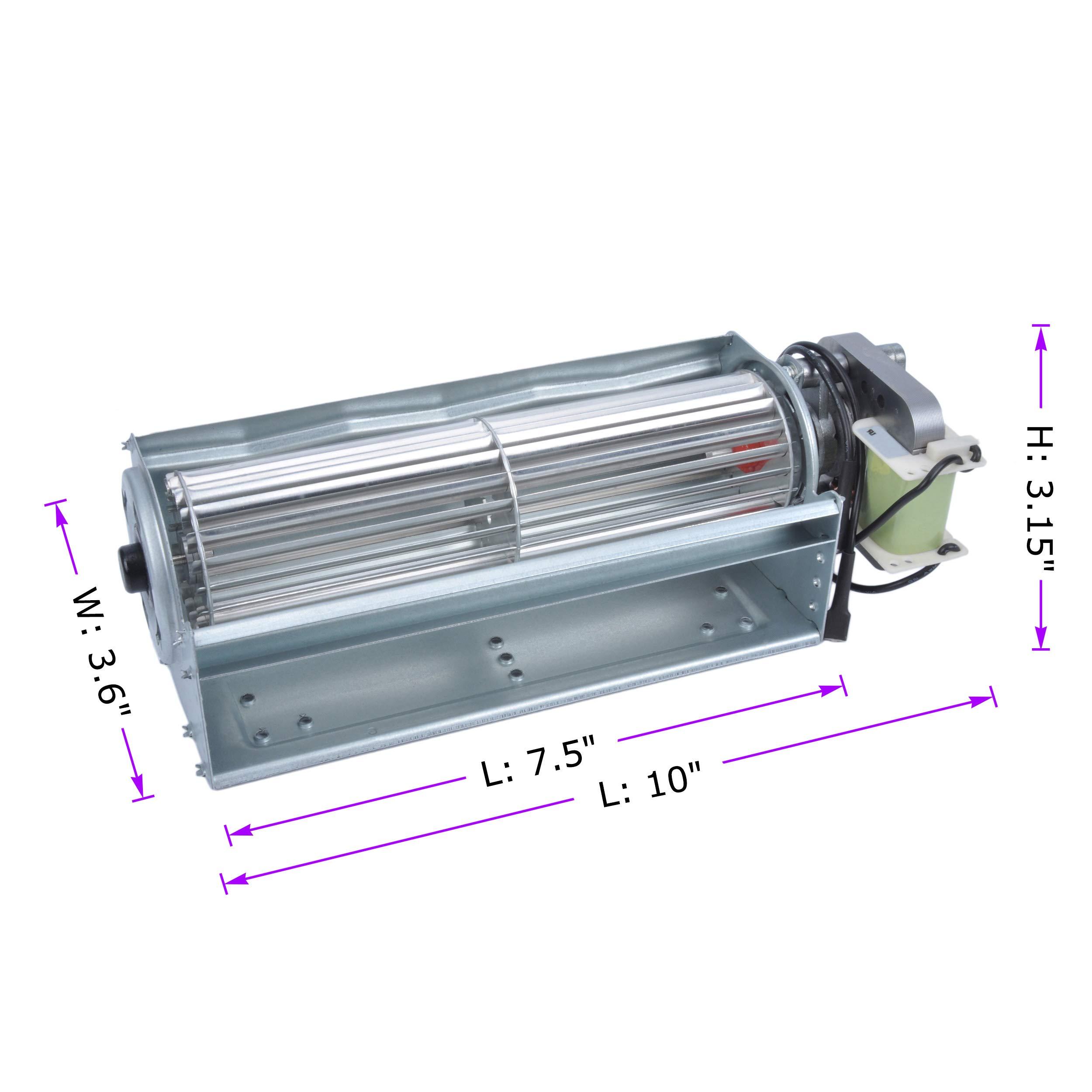 durablow – Chimenea eléctrica de repuesto del ventilador unidad ...