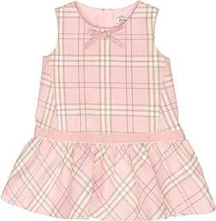 GULLIVER Kleid Baby M/ädchen Kleider Baby M/ädchen Einhorn Kleid Rosa Kariert A Linie Tailliert 9 24 Monate 74 80 cm 86 92 cm