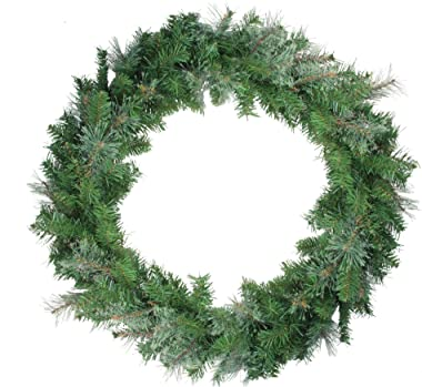"Northlight 15734030 36"" Mixed Cashmere Pine Artificial Christmas Wreath - Unlit"