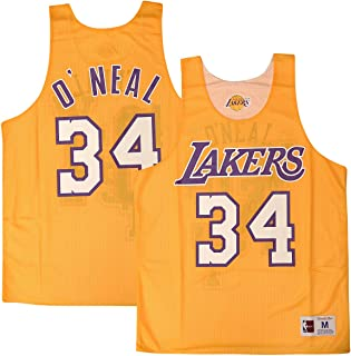 Mitchell & Ness Shaquille O'Neal #34 Los Angeles Lakers 2004 All Star Game Reversible Mesh Tank Top