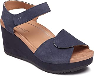 Women's Hoola Astrid II Wedges - Adjustable Sandals with Concealed Orthotic Arch Support
