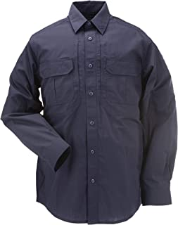 Tactical Men's Taclite Professional Long-Sleeve Button-Up Work Shirt, Teflon Treated, Style 72175