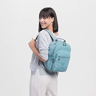 Kipling SEOUL S BACKPACK KI408250L Casual Daypack, Aqua Frost