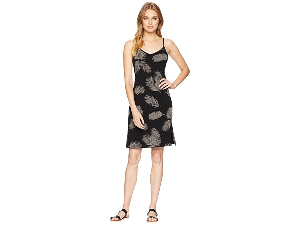Vans Leila Everyday Dress (Black Shadow Palm) Women