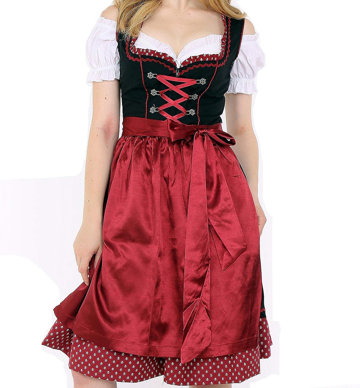 1300 Dirndl Germandress 3Tlg. Oktoberfest Gr.34 bis 52   ORIGINAL LIFOS